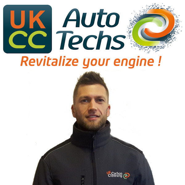 Cristian Nicolaie, carbon cleaning mobile technician for Cristian Nicolaie