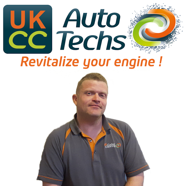 Tony Coe, carbon cleaning mobile technician for Tony Coe