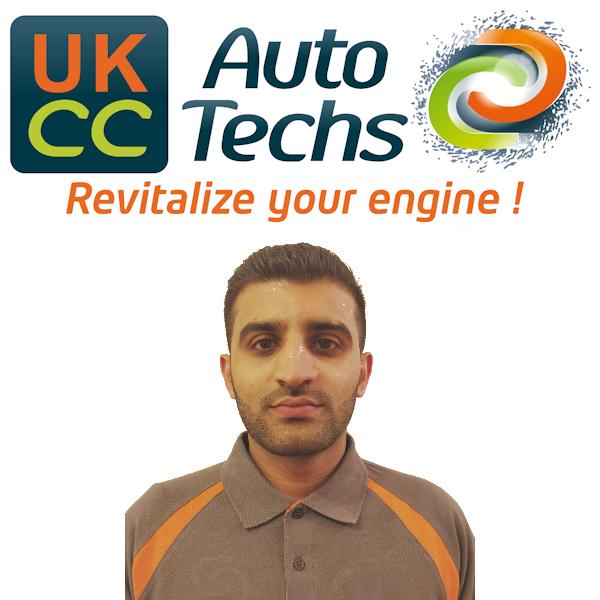 Yasir Iqbal, carbon cleaning mobile technician for Yasir Iqbal