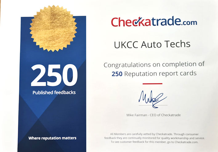 Checkatrade UKCC 250 reviews